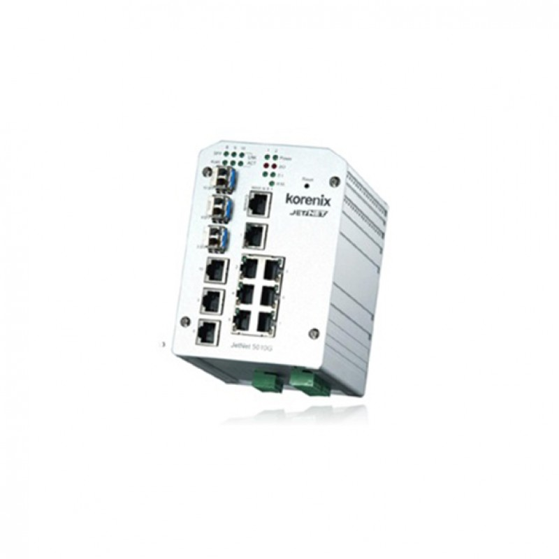 Beijer JetNet 5010G Managed ethernet switch
